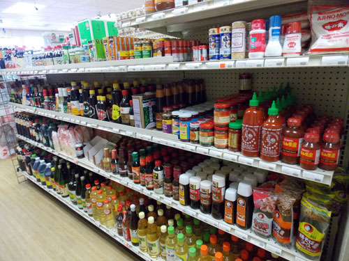 sauces and seasonings